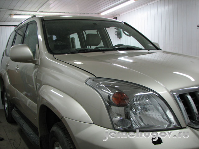 Диагностика ABS Toyota Land Cruiser Prado 120 2008